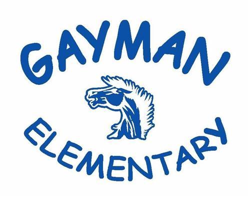 Gayman Elementary Mustang Logo