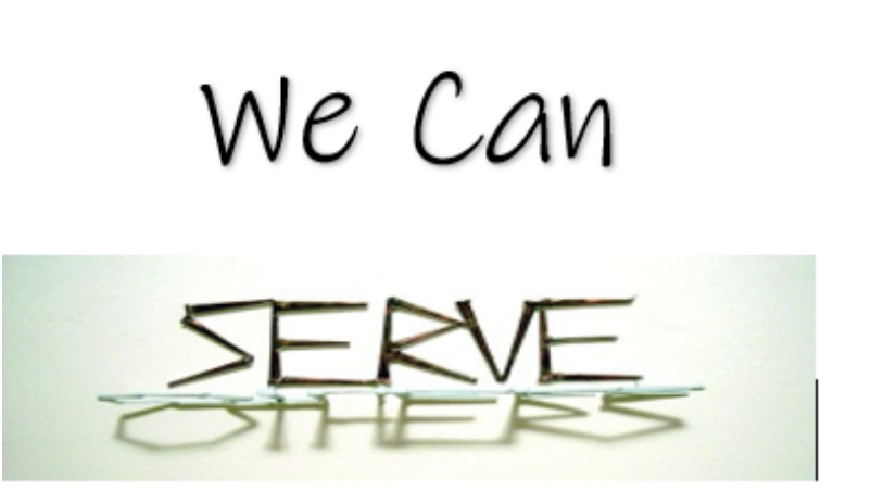 We Can Serve Others