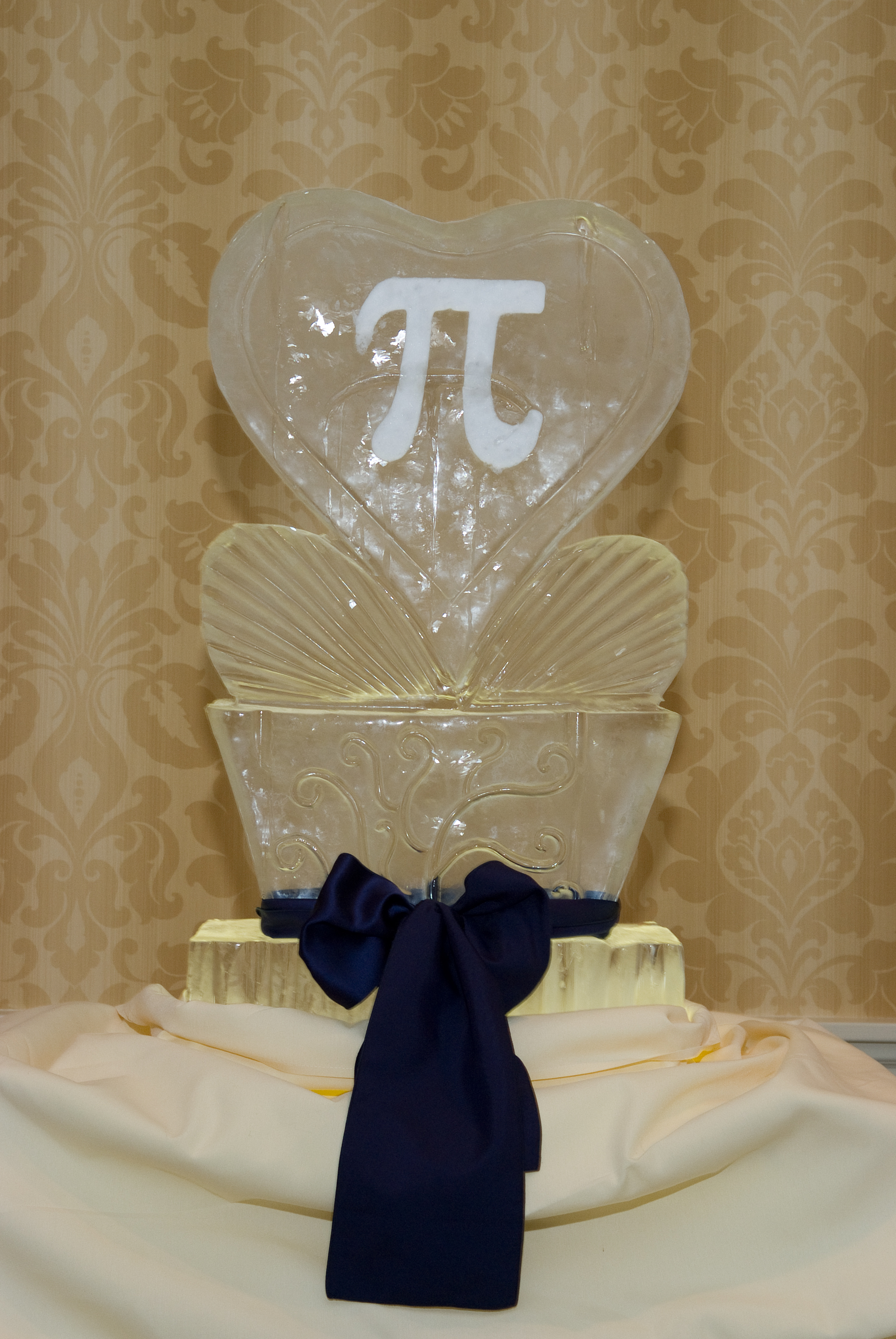 Pi Ice Sculpture