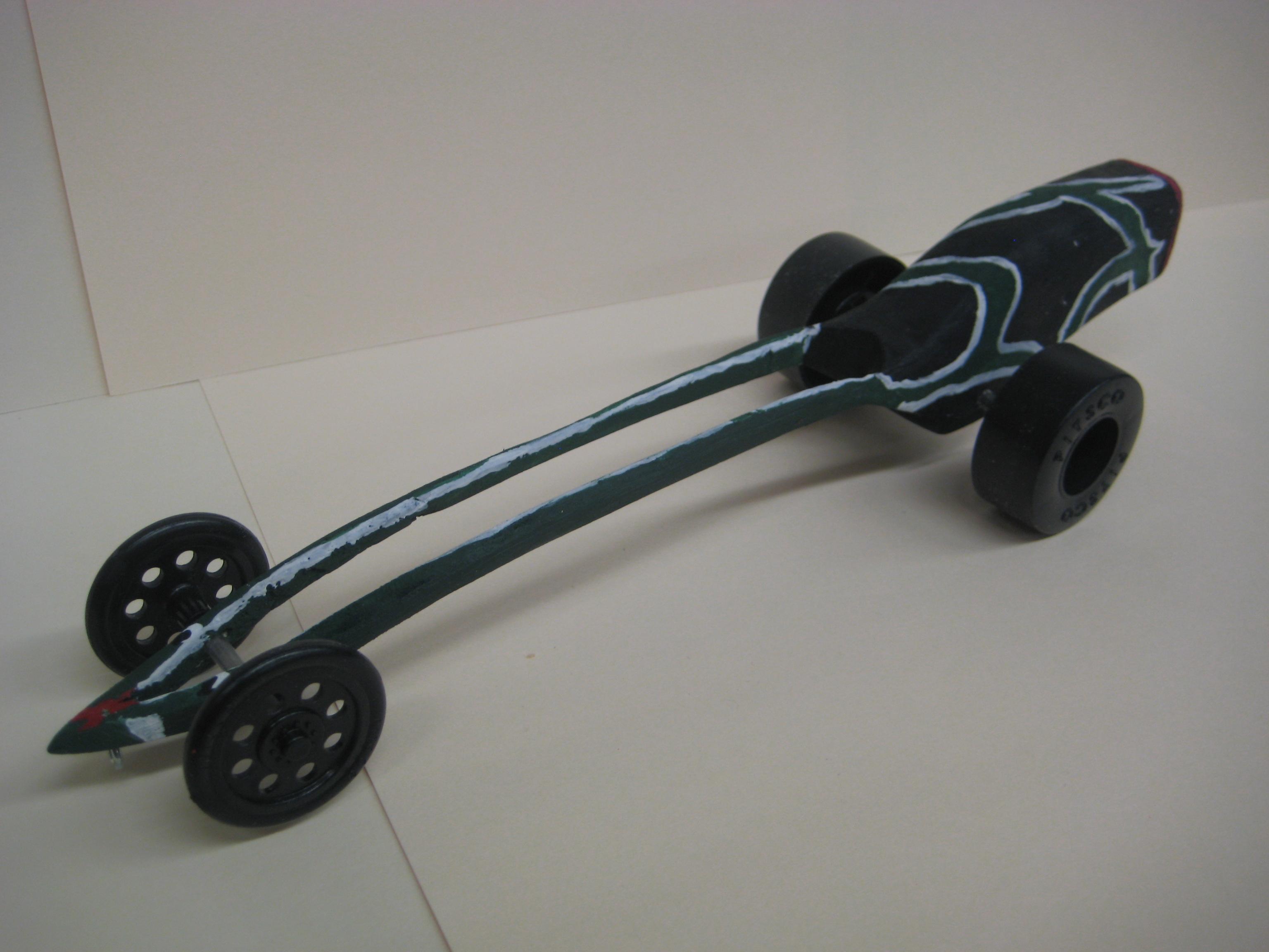 Aerodynamic Co2 Car