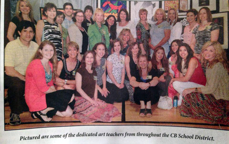 Can you find your art teacher?