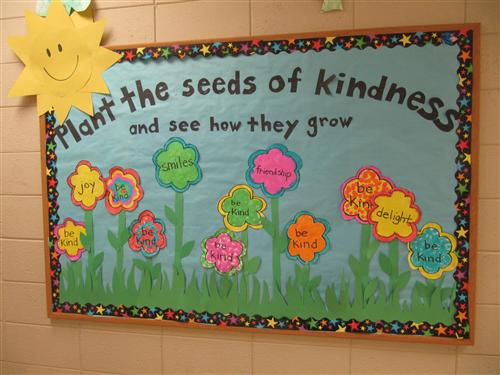 Plant the seeds of kindness