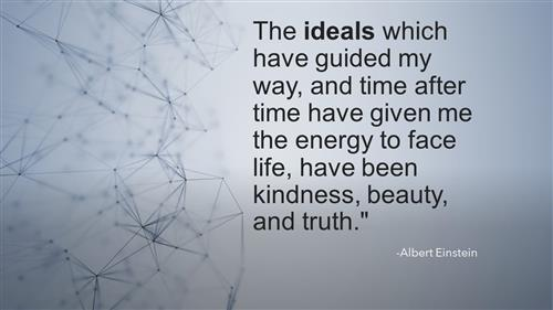 ideals quote