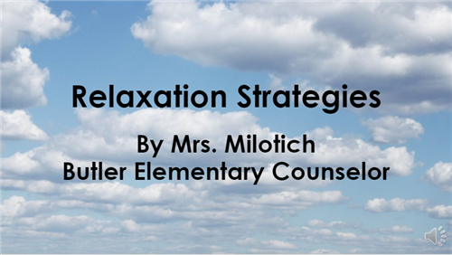 Relaxation Strategies