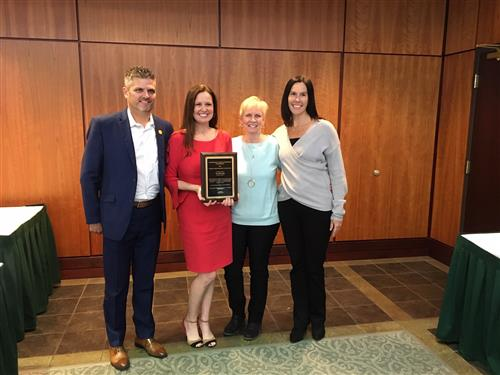 Dr. Szarko awarded School Psychologist of the Year 2019 from the Association of School Psychologists of Pennsylvania