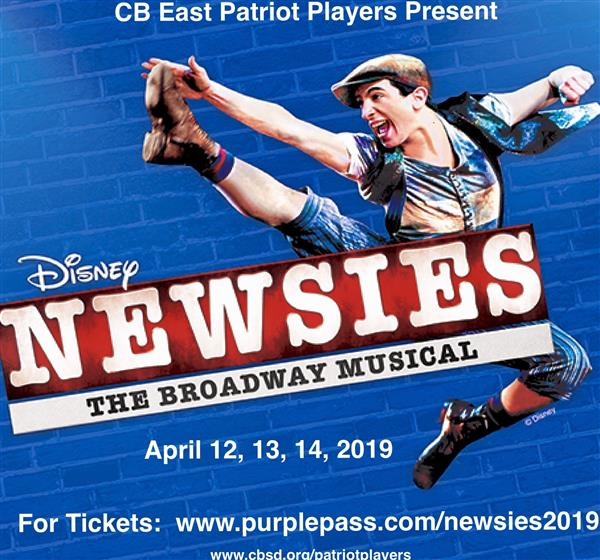 Patriot Players Present Newsies