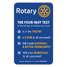 The 4 Way Test