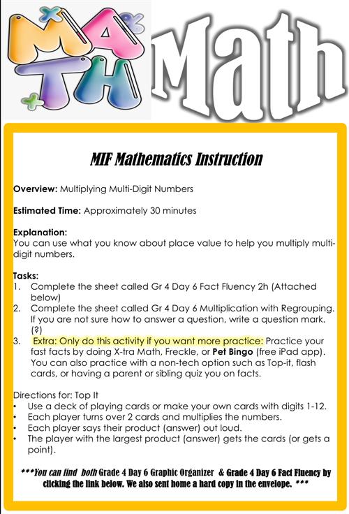 Math Day 6