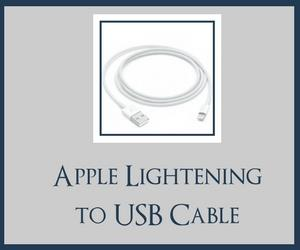 apple lightening cable