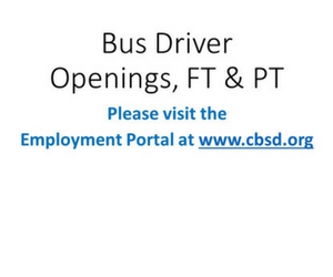 Apply to Become a Bus Driver at CB
