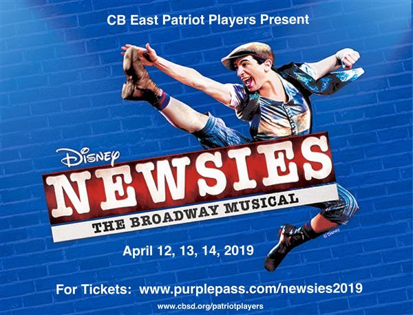 CB East Patriot Players Present: Newsies!