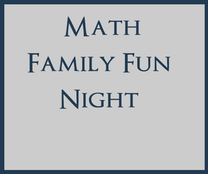 Math Family Fun Night