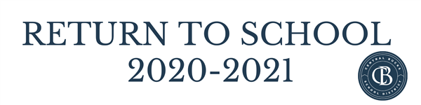 return to school 2020 - 2021 with logo