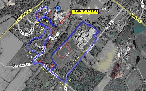 Magic Miles Course Map
