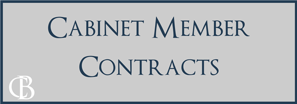 cabinet member contracts