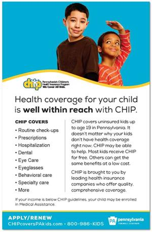 CHIP Flyer English