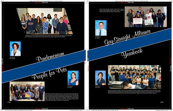yearbook examples of layouts