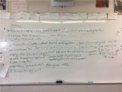 Identifying thesis statements exercise