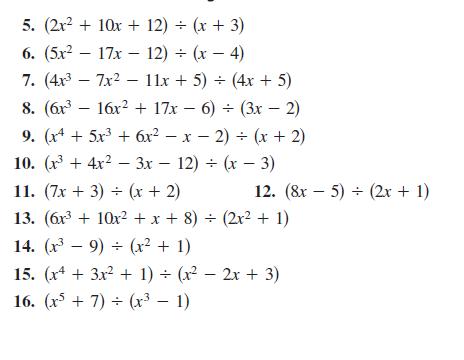 Dividing Polynomials | Polynomial Long Division | Math@TutorVista.com